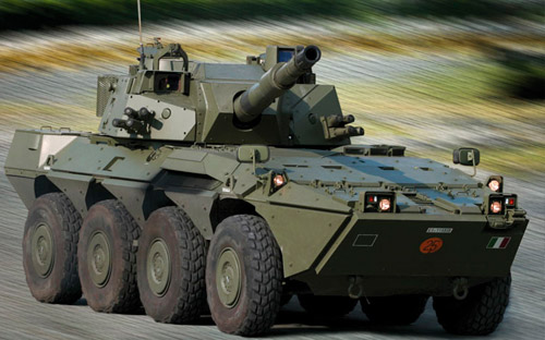 Armored Warfare Centauro 120 Wolf