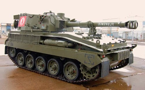 Armored Warfare Abbot VE