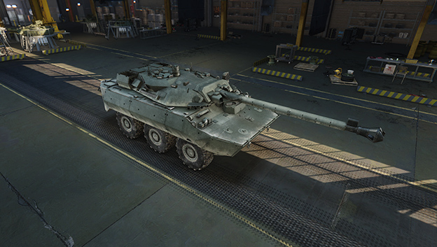 AMX-10RCR в игре Armored Warfare