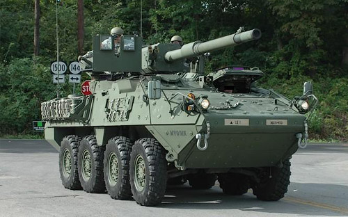 Armored Warfare M1128 MGS Страйкер