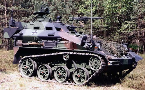 Armored Warfare Wiesel 1 Wolf