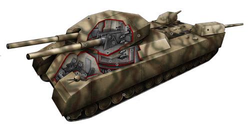 танк немецкий крыса фото