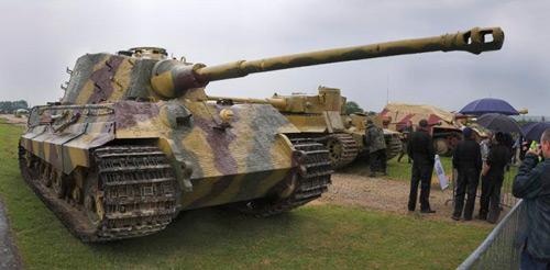 Тяжёлый танк Tiger II , характеристики и описание