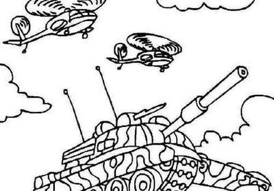 Раскраска танк ис