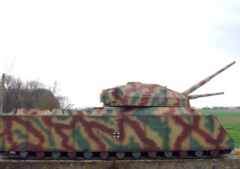 проволоку фото танка ратте с боку колёсиков-крутилок, задипание