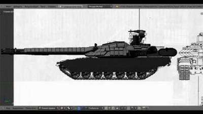Видео с танком армата